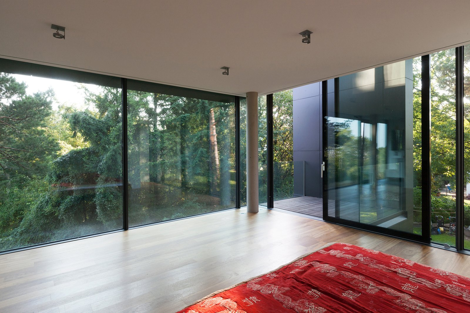 View from the first floor Black Pearl by Architect Zoran Bodrozic