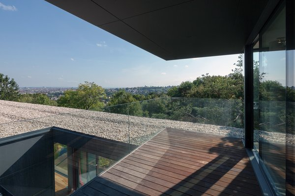 Roof terrace of the office level Photo 14 of Black Pearl modern home