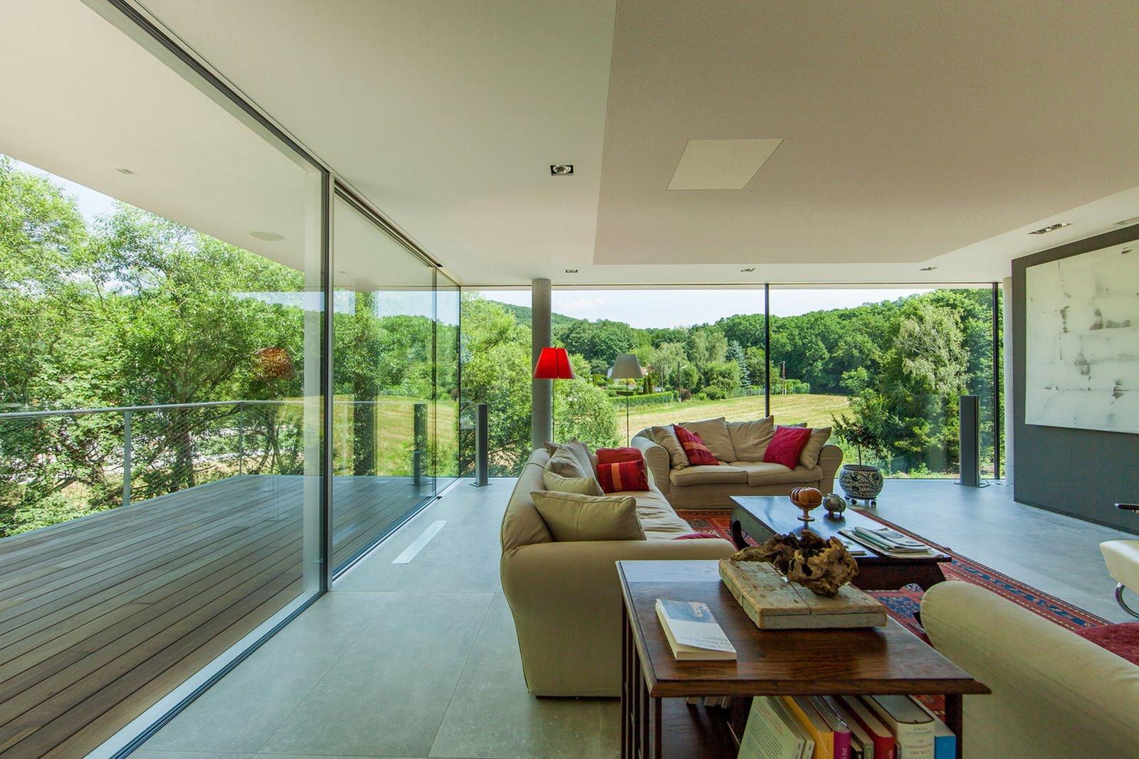 Living room  360° Villa by Architect Zoran Bodrozic