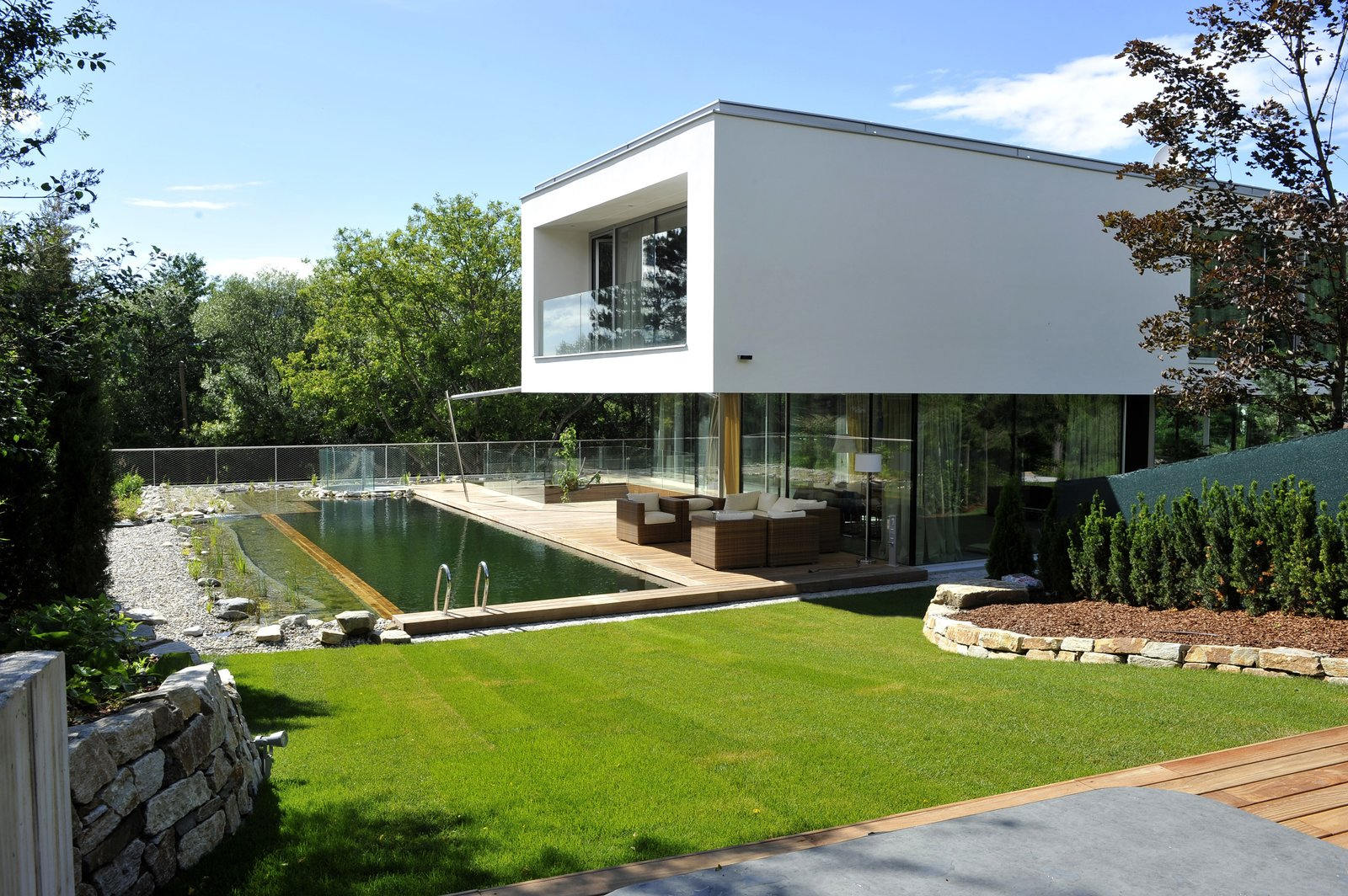 View from the Southeast  360° Villa by Architect Zoran Bodrozic
