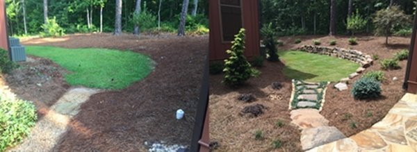 commercial landscaping Photo 2 of Landscaping modern home