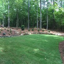 hillside landscaping Photo 6 of Landscaping modern home