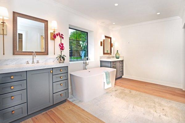 Master Bath  Photo  of Quail Run modern home
