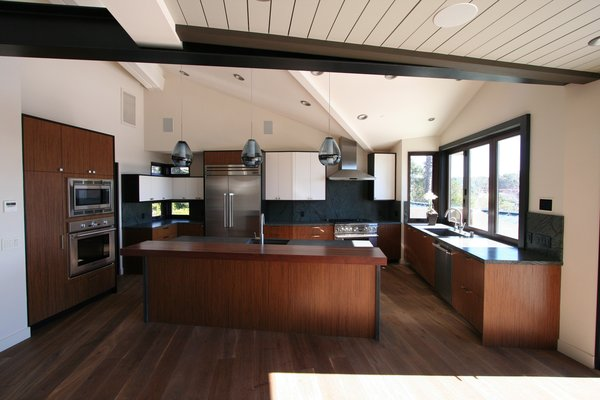 Energy efficient lighting and appliances in the kitchen and throughout the home. Photo 6 of The Jaska Nolan Residence modern home