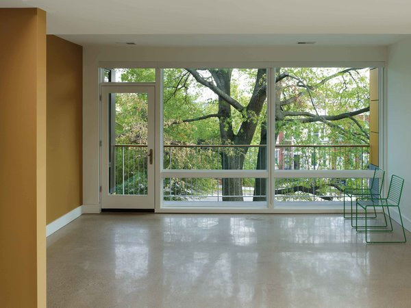 """Treehouse unit"" with a view of nature Photo 10 of In Living Color modern home"