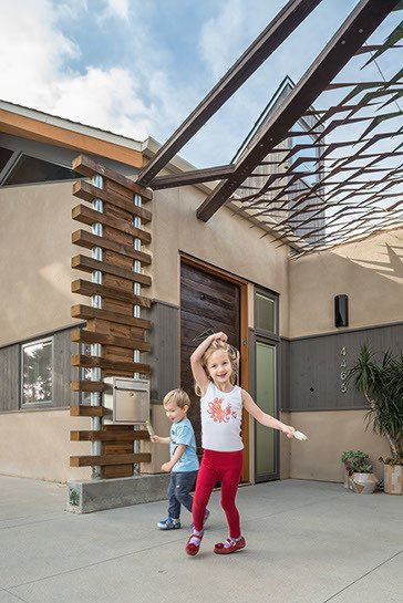 The grandchildren love to play here, taking full advantage of the easy flow indoors to out. Photo 4 of The Modern Mission modern home
