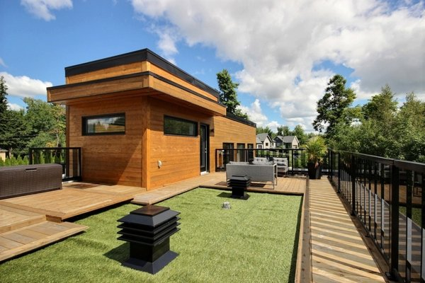 Rooftop terrace Photo 17 of Keps Haus 2.0 California Style in Canada modern home