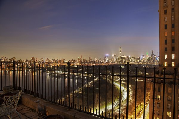 City View from Third Terrace Photo 4 of Magical Manhattan Penthouse modern home