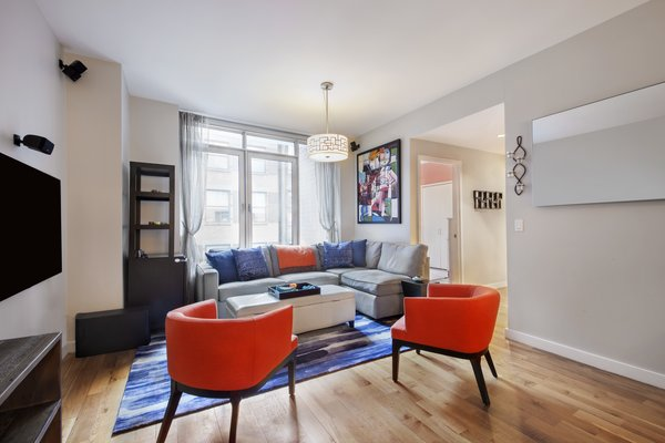 Living Room Photo  of 50 Franklin Street modern home