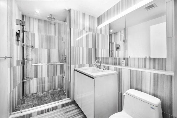 Bathroom Photo 6 of 50 Franklin Street modern home