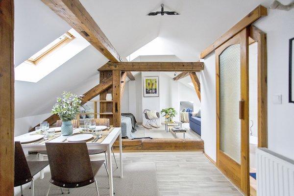 Photo 6 of Attic in Mala Strana modern home