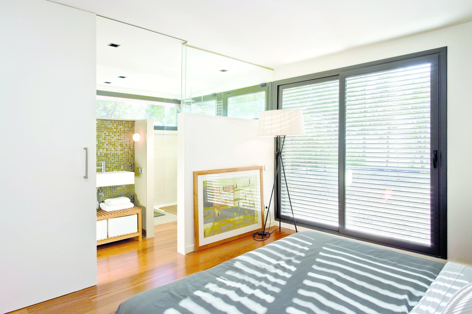 Master Bedroom  Rambed House by Katherine Bedwell