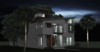 Night Shot- Front Elevation Photo 4 of Neo Mid-Century Modern Home Tampa modern home