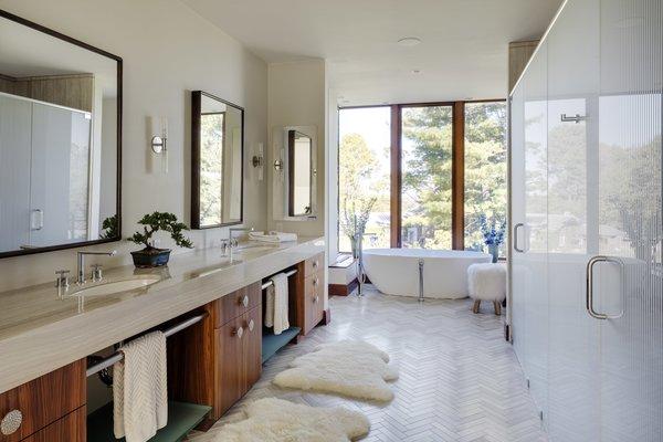 Master Bathroom Photo 19 of Boston Suburbs modern home