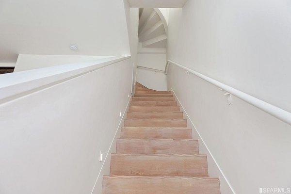 Douglas Fir Stairs Photo 8 of Coleridge Residence modern home