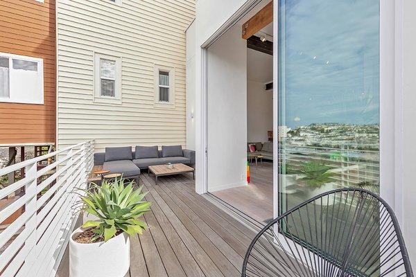 Main Floor Deck Photo 14 of Coleridge Residence modern home