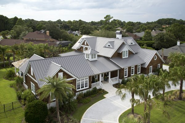 Photo Credit PAC-CLAD Photo  of Ponte Vedra modern home