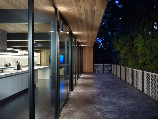 Deck Photo 2 of Wood Block Residence modern home