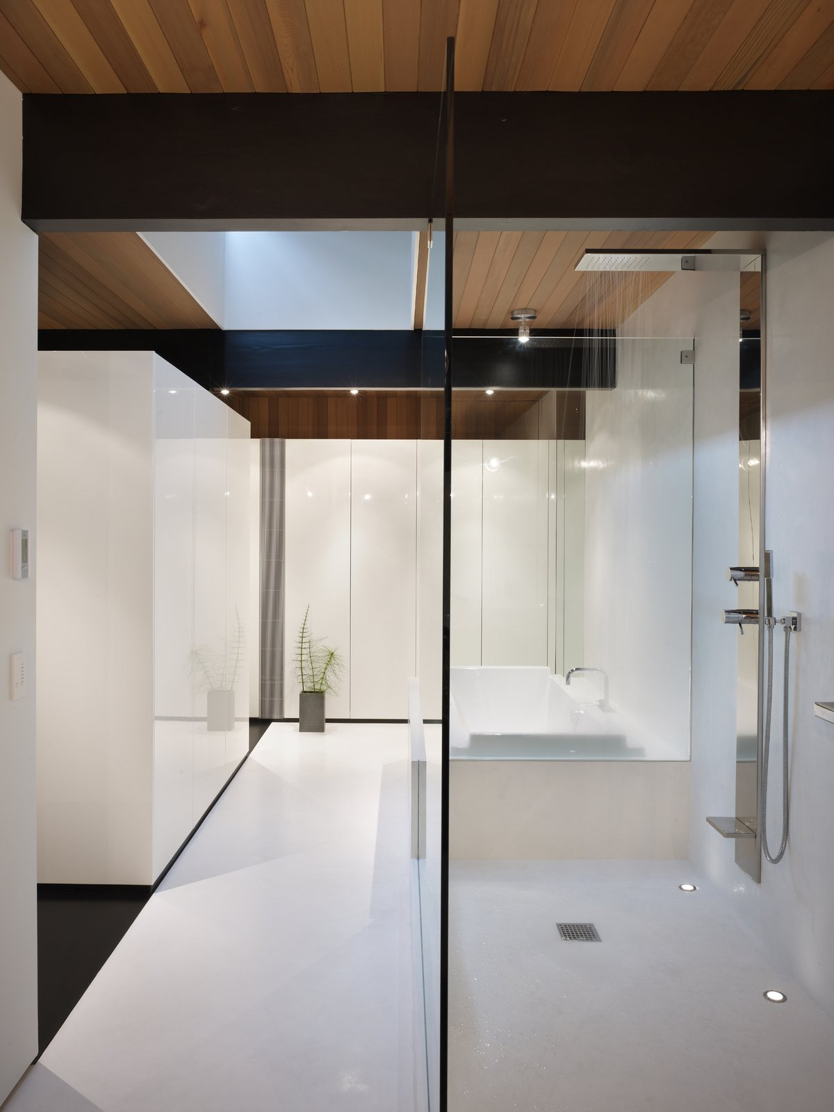 Master Bathroom   Wood Block Residence by chadbourne + doss architects