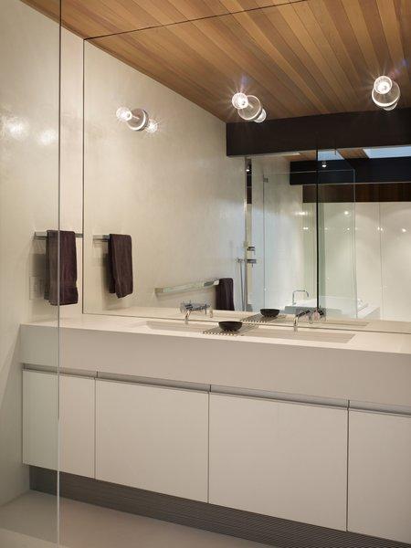 Master Bathroom Vanity Photo 8 of Wood Block Residence modern home