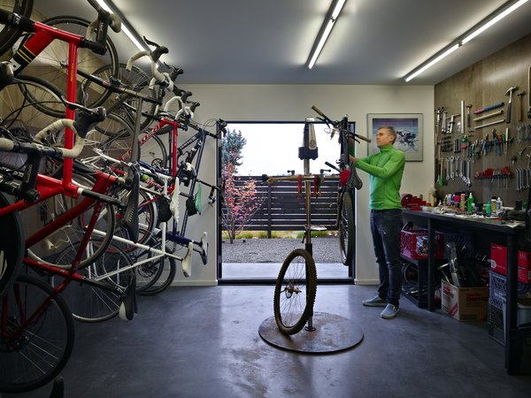 Bike Shop Photo 6 of Cycle House modern home