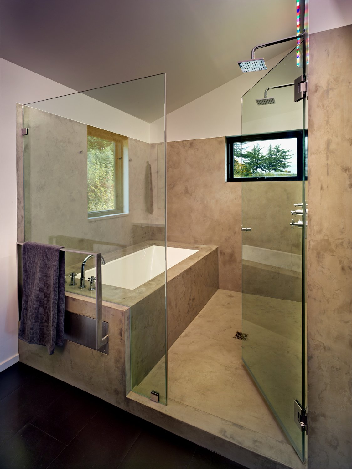 Master Wet Room  Cycle House by chadbourne + doss architects