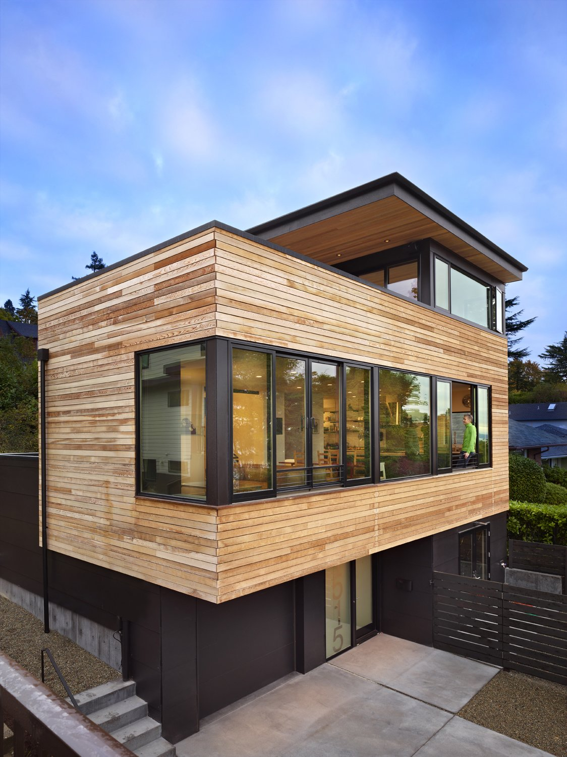 Building Exterior  Cycle House by chadbourne + doss architects