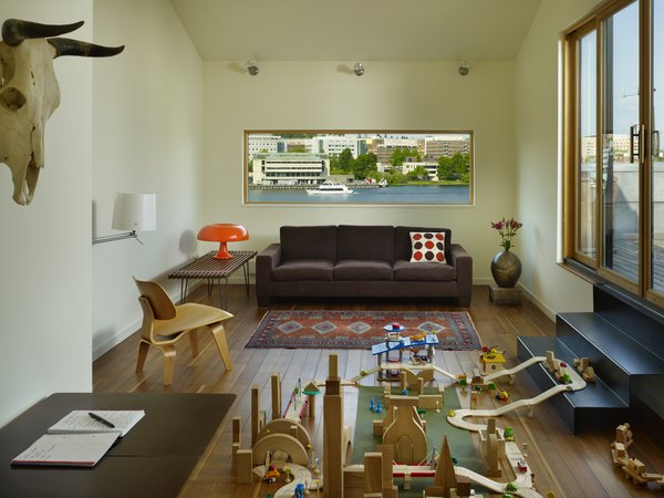 Family Room Photo 9 of Lobster Boat House modern home
