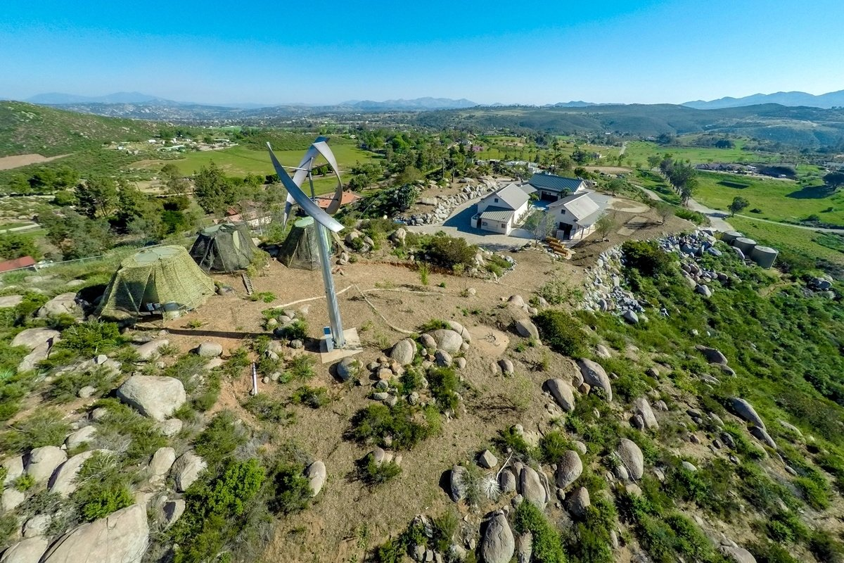 Casa Aguila Wind Turbine  Casa Aguila by Maureen Brennan
