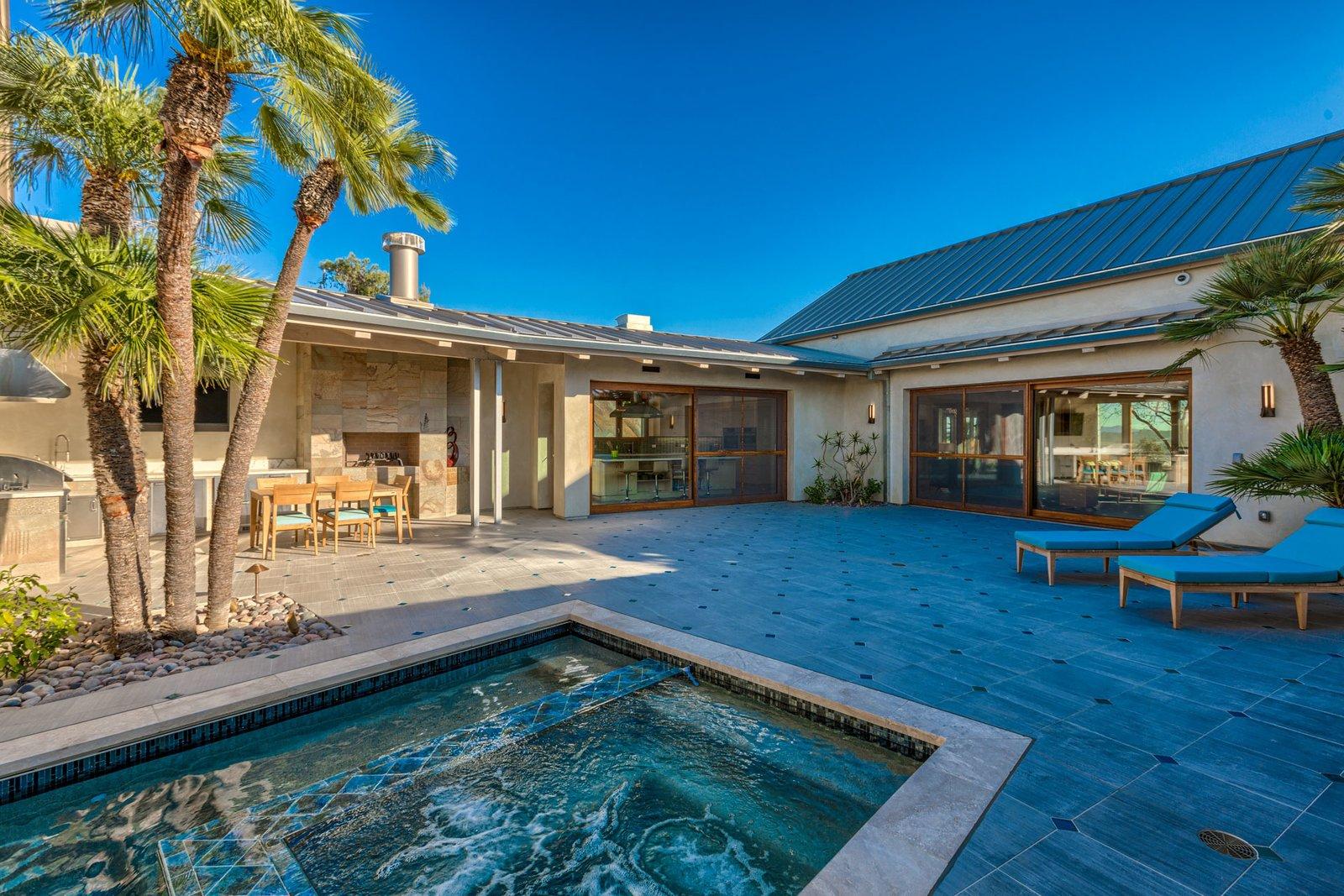 Casa Aguila Pool and Outdoor Living Space Casa Aguila by Maureen Brennan