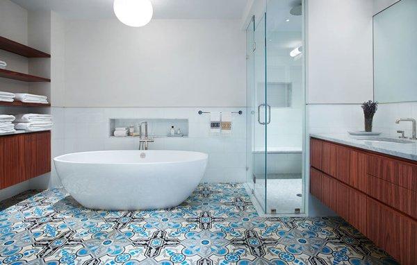 Photo  of Hot Bathroom Design Trends modern home