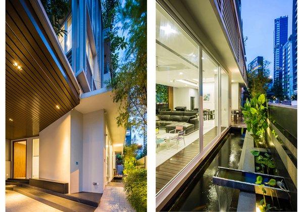 Photo  of Corner Terrace Home modern home