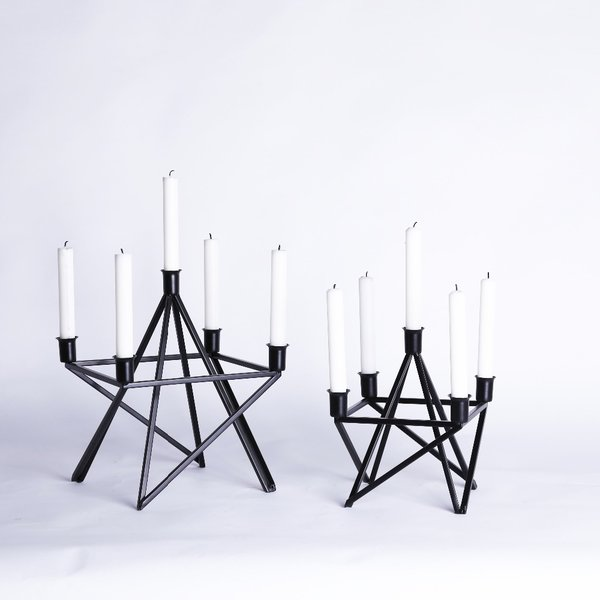 Eiffel Candle Stands