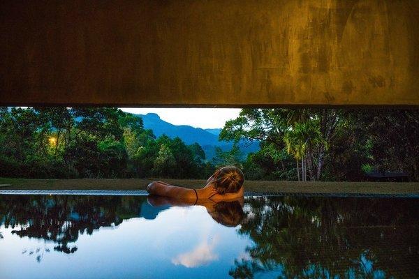 Spa - Thermal Salt Bath Photo  of Santani Wellness Resort and Spa modern home