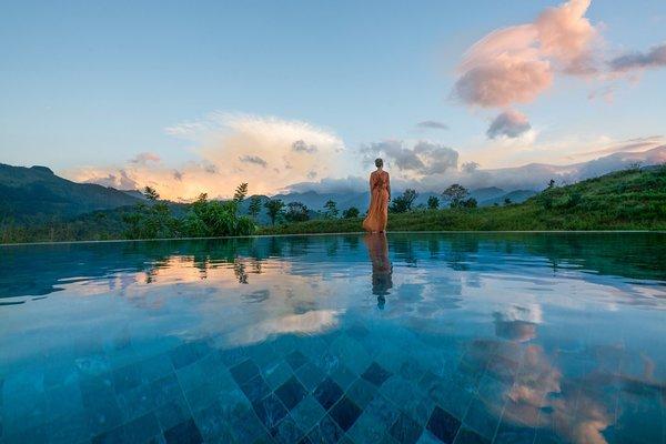 Infinity Pool Photo 4 of Santani Wellness Resort and Spa modern home