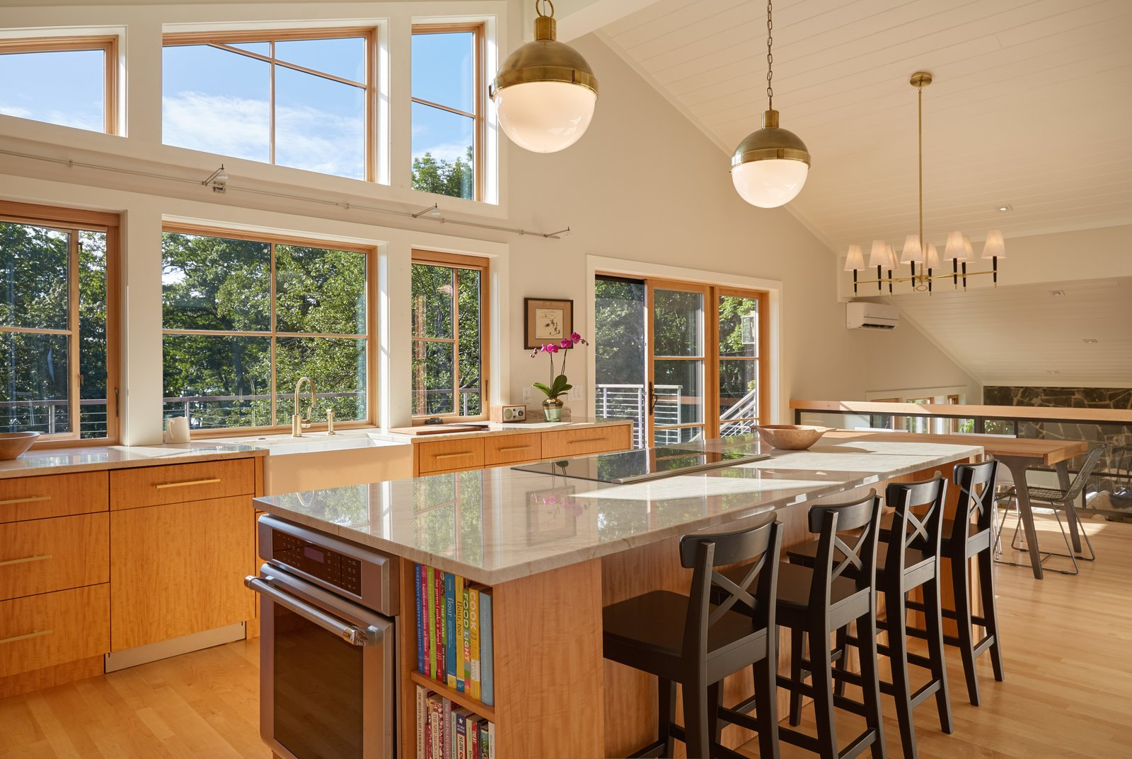 Light filled kitchen  Midcentury Makeover by Kevin