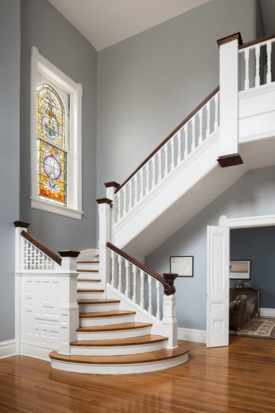 Renovated Entry Hall & Stair Photo 5 of Fayette Park Resisdence modern home
