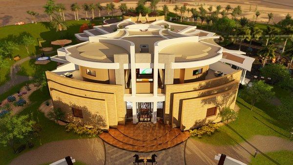 Photo 9 of Desert Villa Spa Retreat modern home