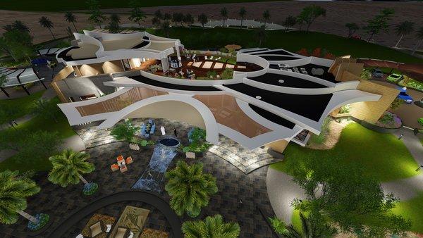 Photo 8 of Desert Villa Spa Retreat modern home