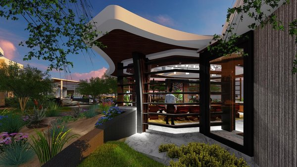 Photo 7 of Free-Standing Desert Dining Suite modern home