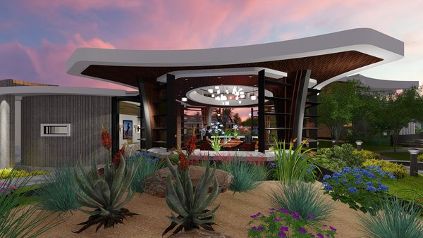 Photo 8 of Free-Standing Desert Dining Suite modern home