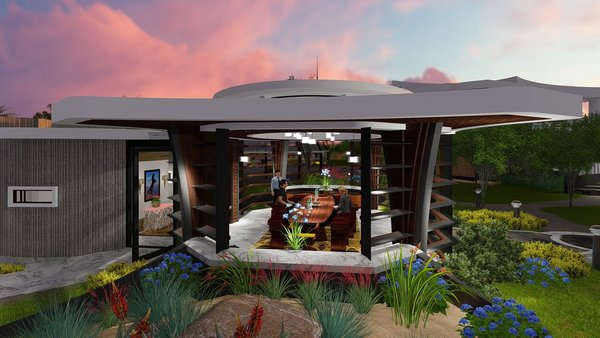 Photo 9 of Free-Standing Desert Dining Suite modern home