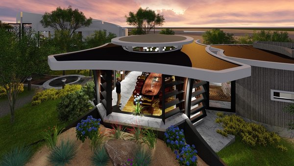 Photo 10 of Free-Standing Desert Dining Suite modern home