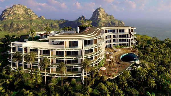 Balangan Vistas Resort Hotel Photo 2 of Balangan Vistas Resort Hotel and Villas modern home