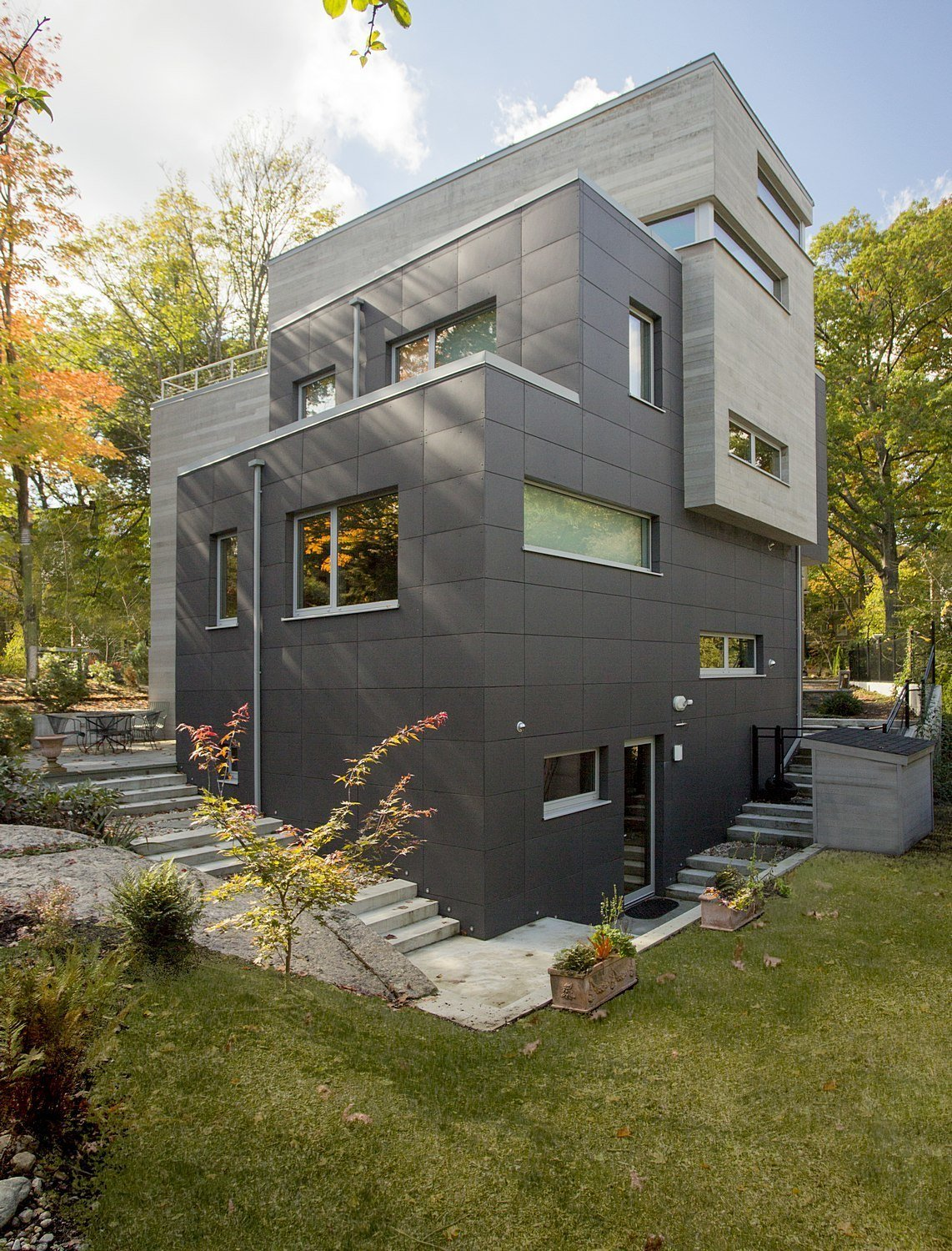Brookline Residence by ZeroEnergy Design