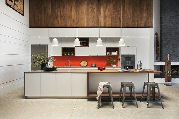 Kitchen Photo  of Boston Family Loft modern home