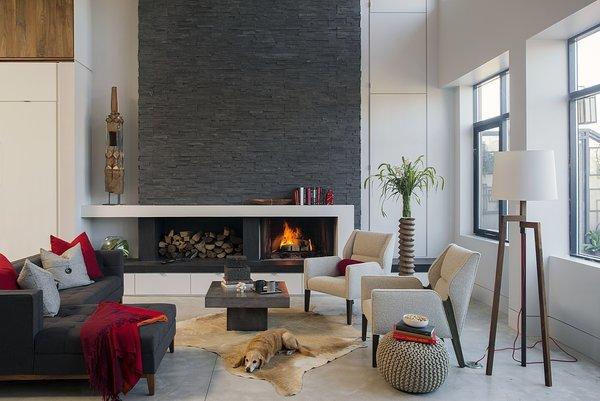 Livingroom Photo 3 of Boston Family Loft modern home
