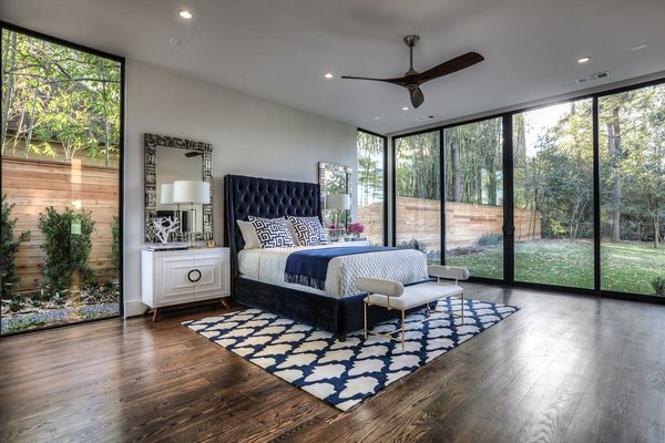 Master Bedroom Photo 7 of Houston Modern Masterpiece modern home