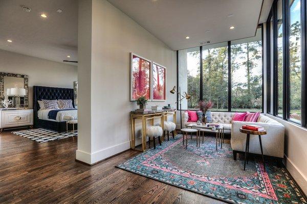 Master Suite Photo 8 of Houston Modern Masterpiece modern home