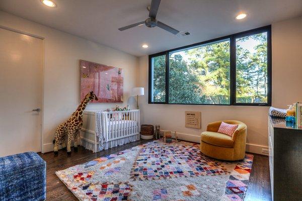 Nursery Photo 11 of Houston Modern Masterpiece modern home